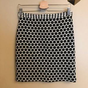 Anthropologie Leifnotes patterned skirt